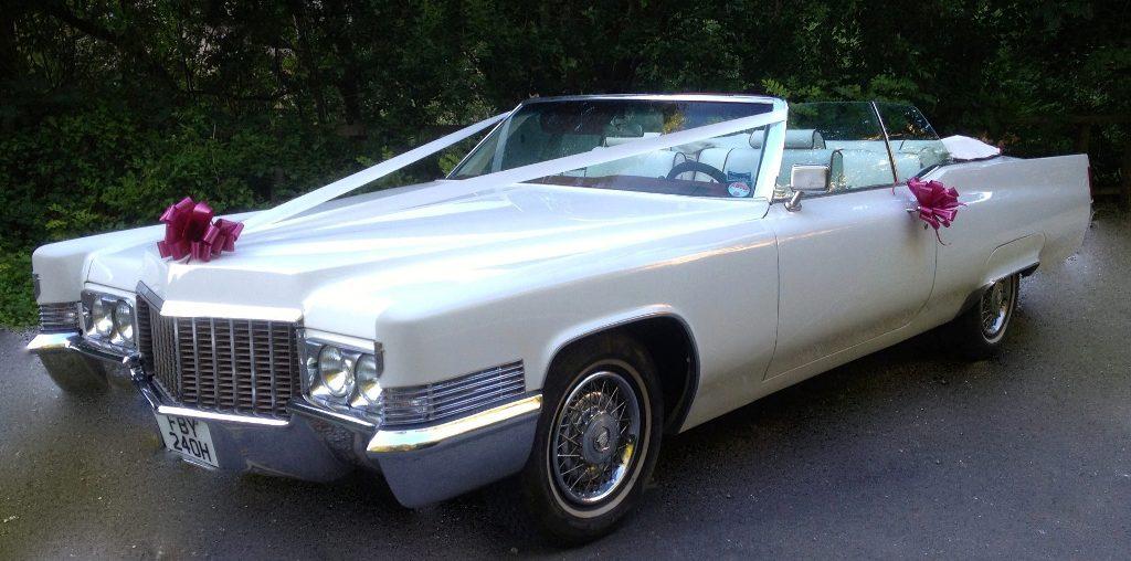 Cadillac Wedding Car | Cadillac Hire in Mansfield ...